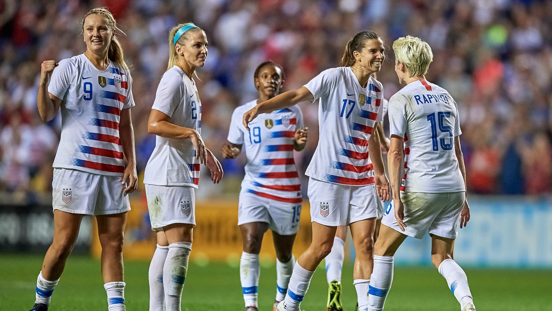 Us womens soccer team roster